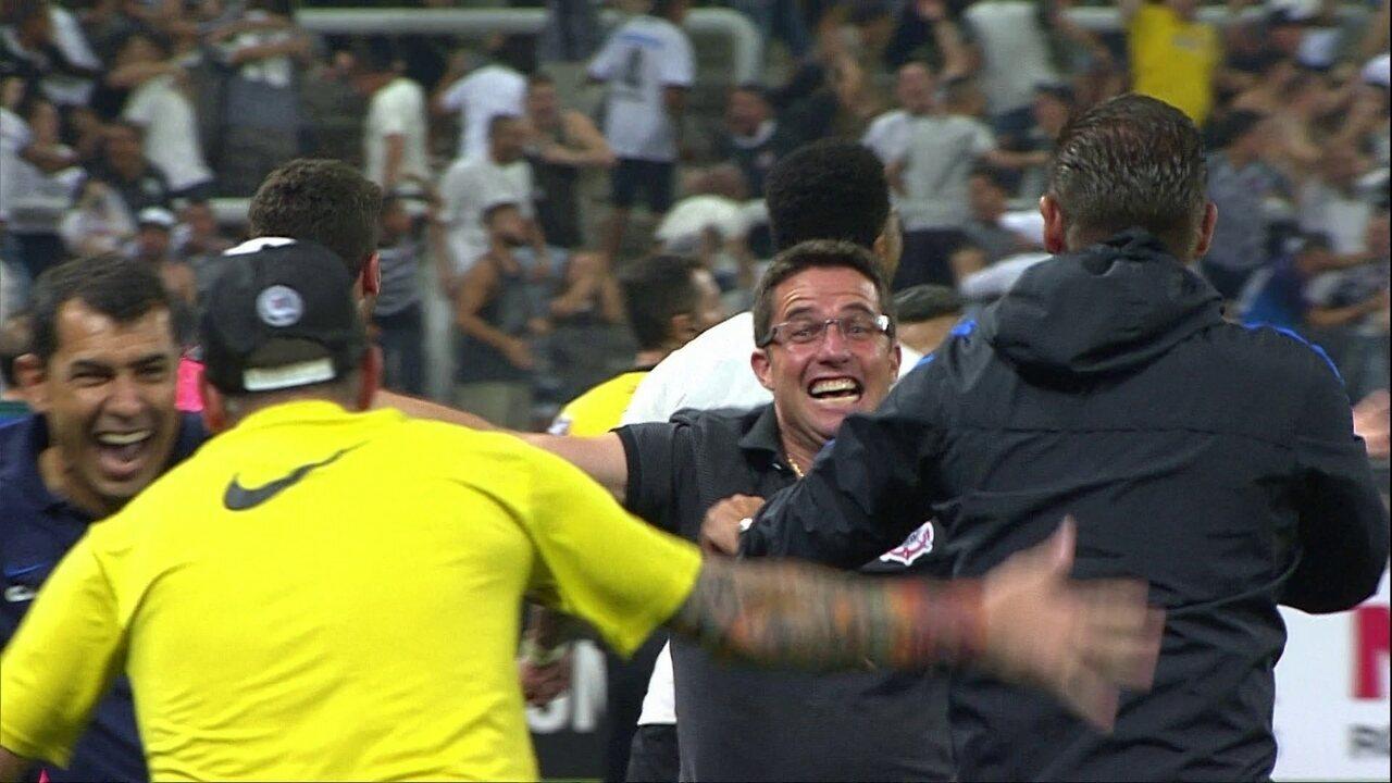 O gol de Corinthians 1 x 0 Palmeiras pelo Campeonato Paulista 2017