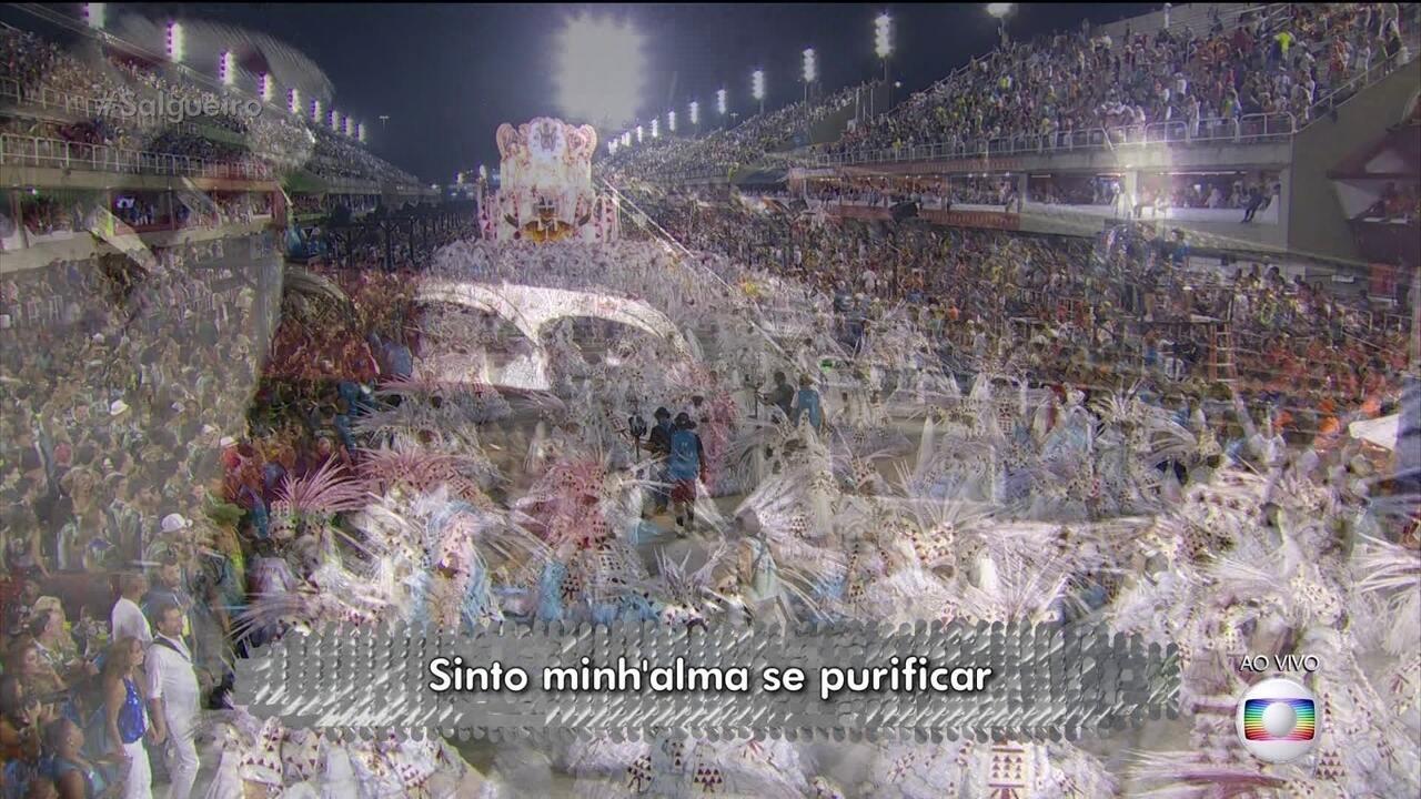 Salgueiro mistura folia à Divina Comédia, de Dante Alighieri