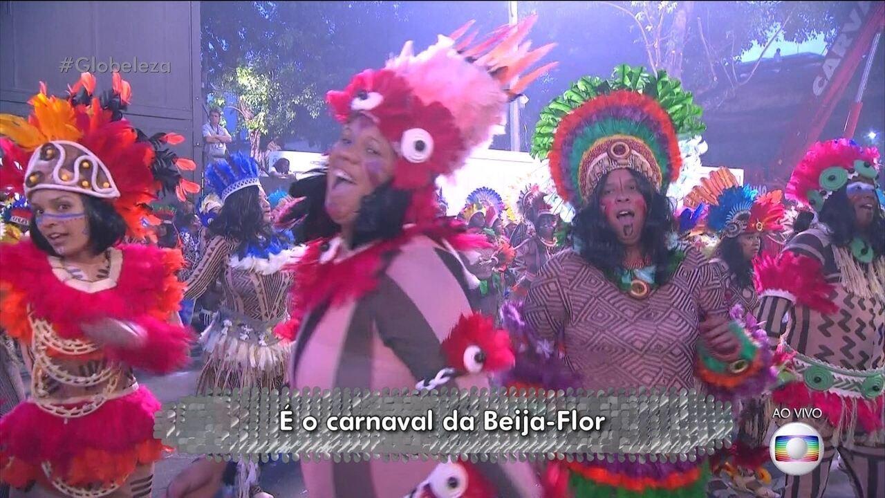 Enredo da Beija-Flor é inspirado no romance 'Iracema', de José de Alencar