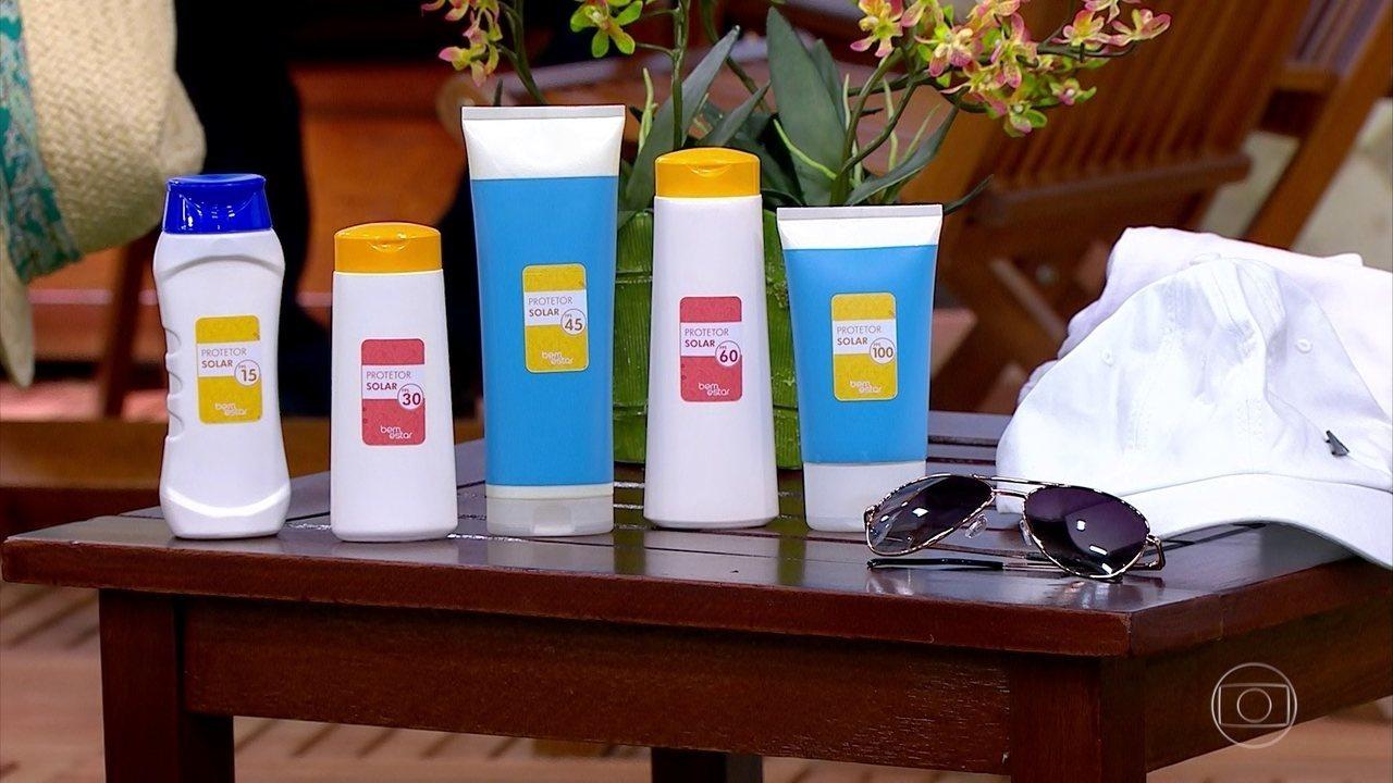 Pesquisa revela que 65% dos brasileiros não usam filtro solar diariamente