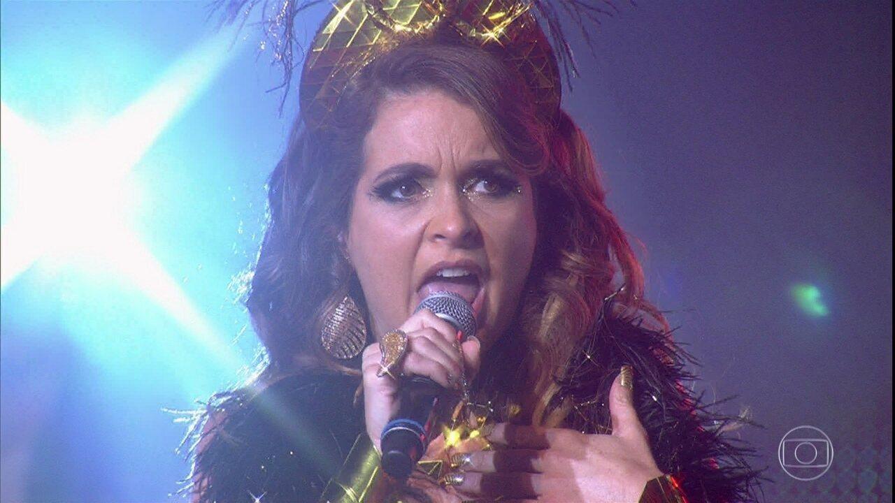 Chayene perde a voz durante show com Luan Santana