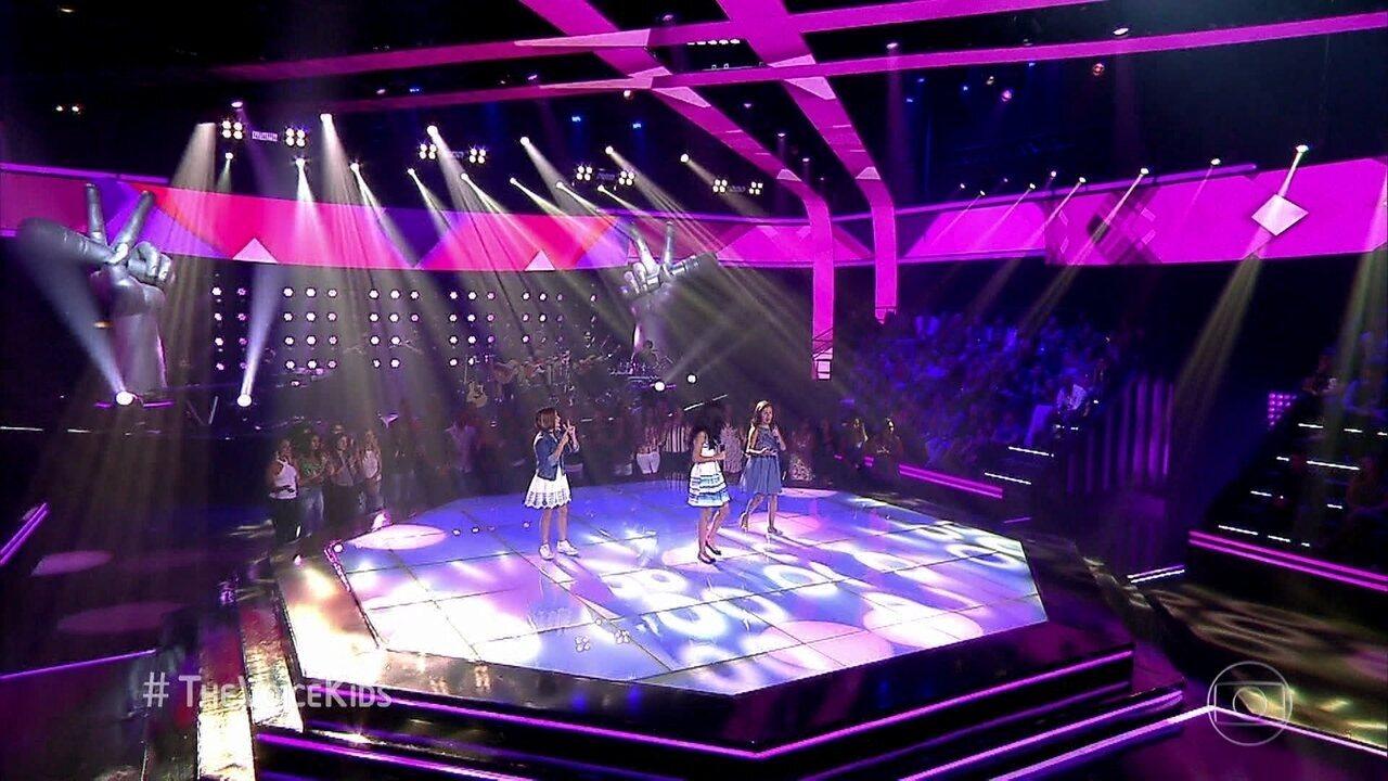 Ana Clara, Clarinha Saldanha e Hadassa Priscilla cantam 'O trenzinho do caipira'