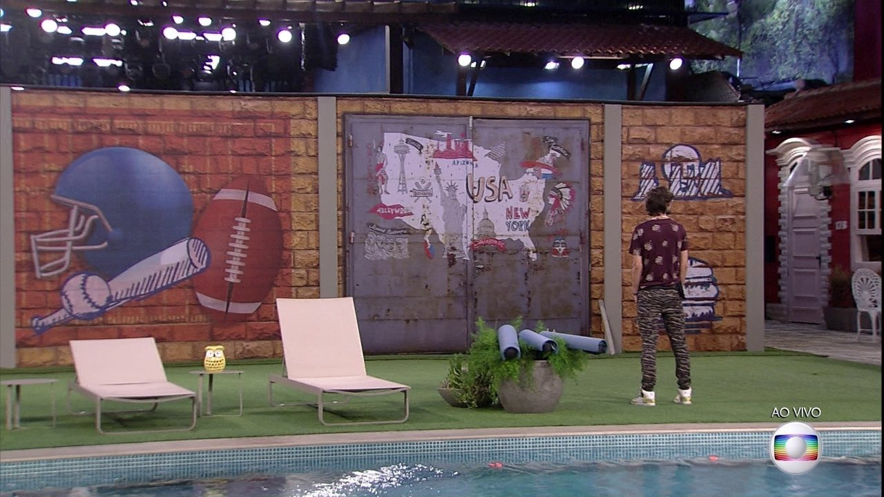 Brothers descobrem muro no quintal da casa do BBB17