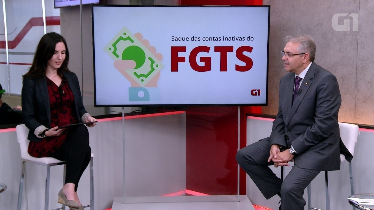 G1 fez programa ao vivo para tirar dúvidas dos internautas sobre saque do FGTS; veja a íntegra
