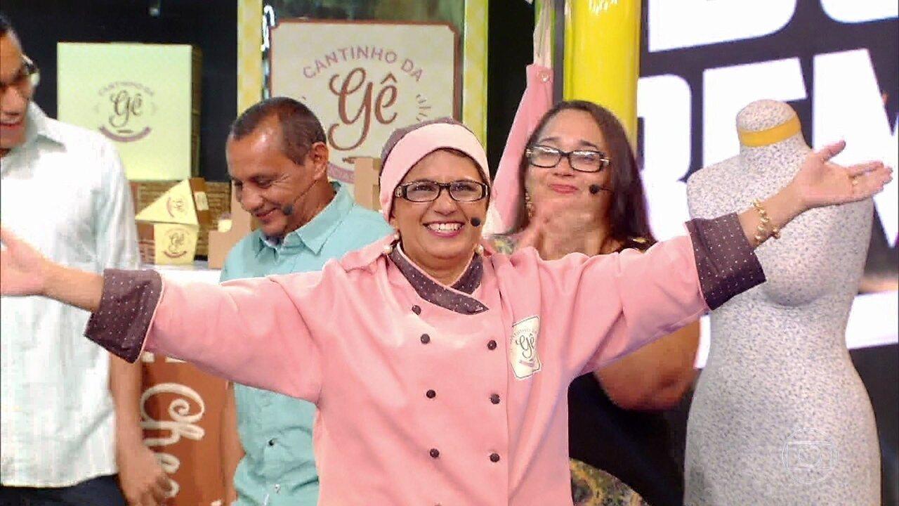 'Mandando Bem' reforma o negócio de Dona Gê