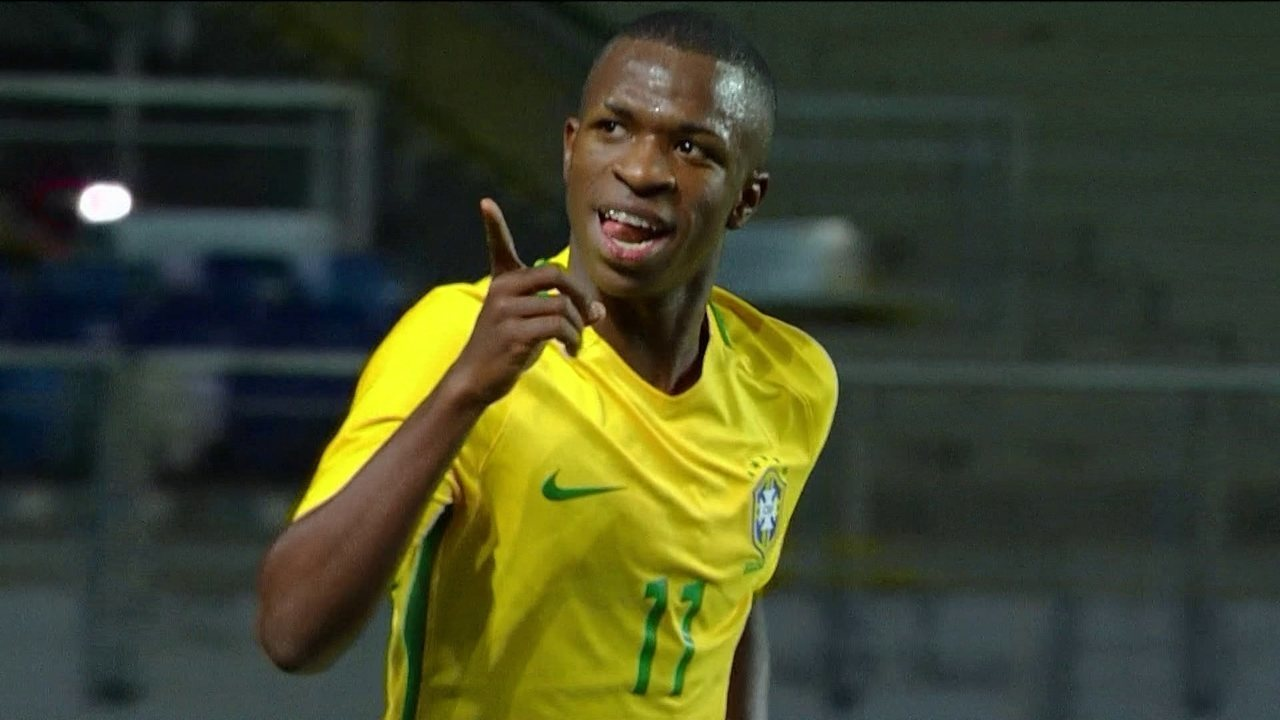 Os gols de Brasil 3 x 0 Equador pelo Sul-Americano Sub-17
