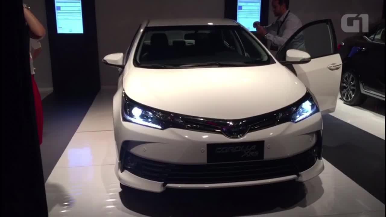 Toyota Corolla reestilizado chega às lojas e traz de volta versão XRS