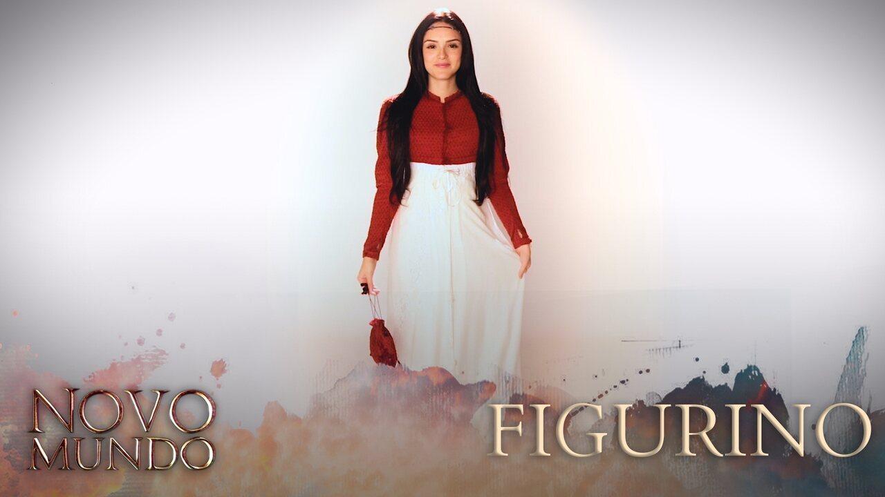 Vídeo exclusivo mostra com detalhes o figurino dos personagens de 'Novo Mundo'
