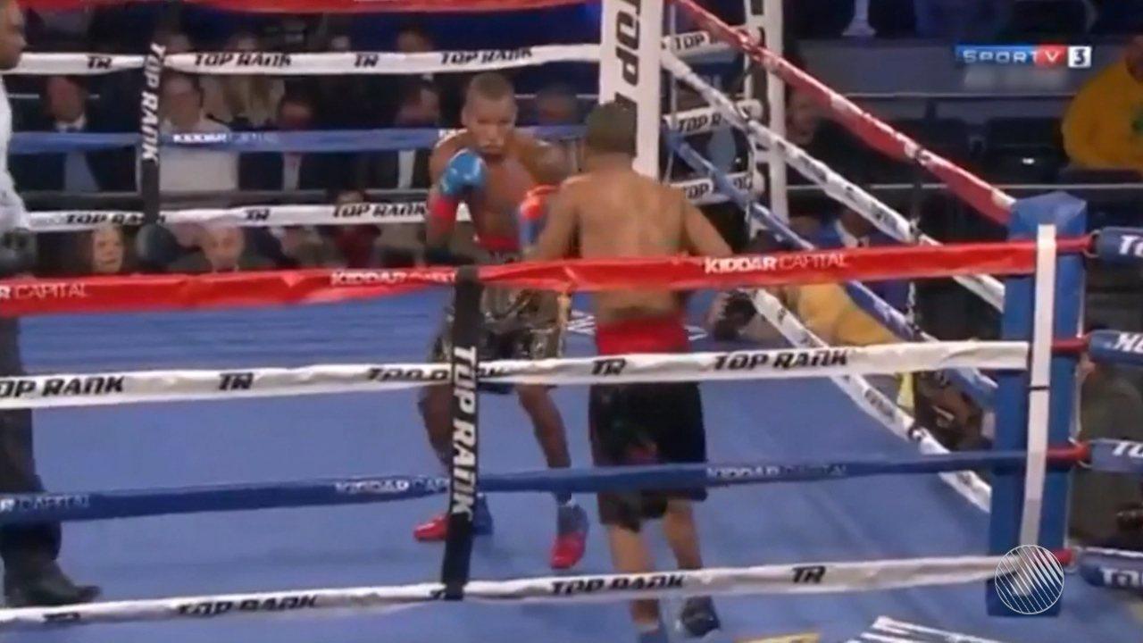 Robson Conceição ganha a terceira seguida no boxe profissional