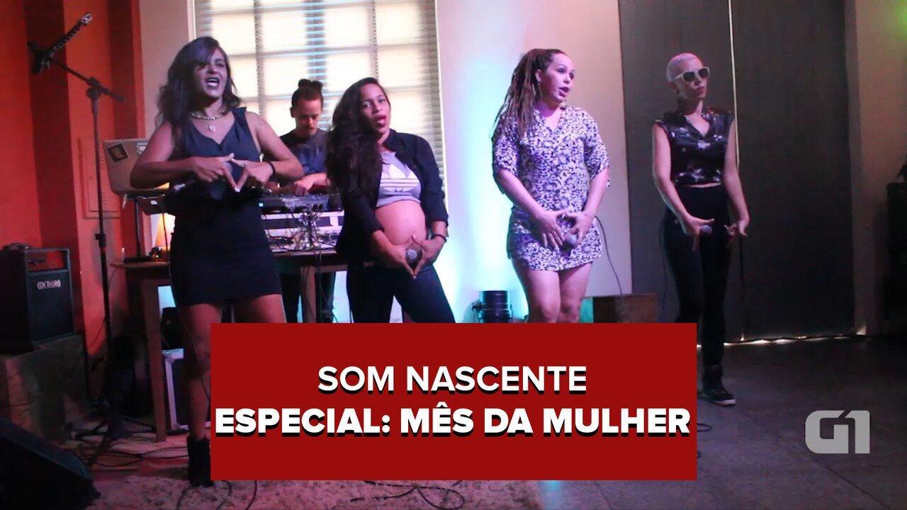Sinta a Liga Crew, Margaridas em Fúria e Coco das Manas no Som Nascente