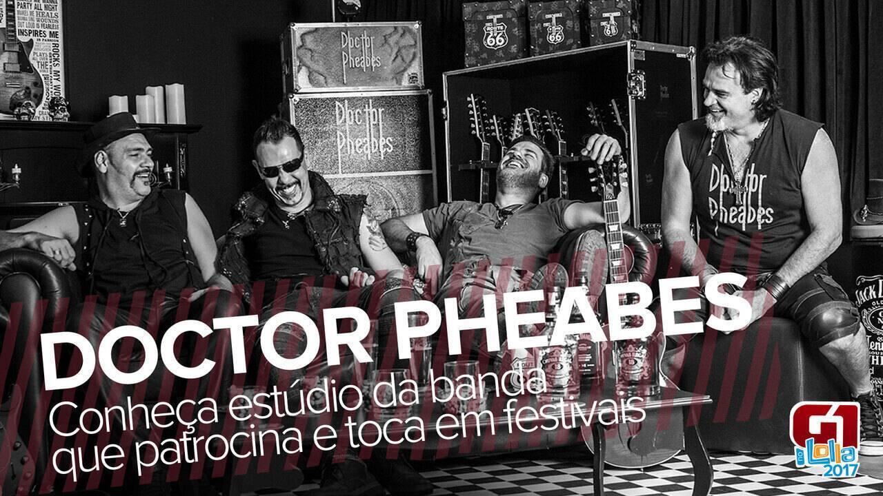 G1 visita estúdio da banda Doctor Pheabes, que vai tocar no Lolla e no Rock in Rio