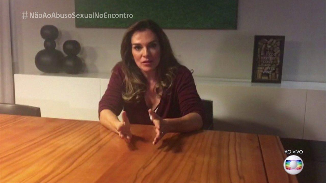 Mara Carvalho relata abusos em depoimento emocionado ao 'Encontro'