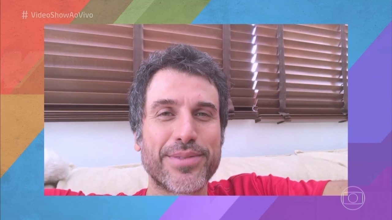 Eriberto Leão anuncia que será papai novamente