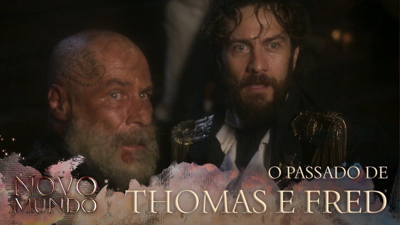 Autores falam sobre o passado de Thomas e Fred Sem Alma