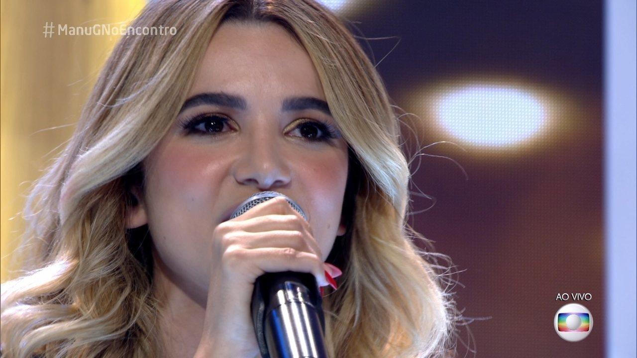Manu Gavassi canta 'Sorry'