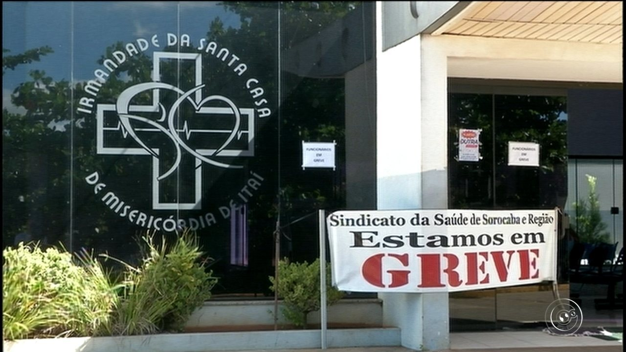 Funcionários da Santa Casa de Itaí entram em greve