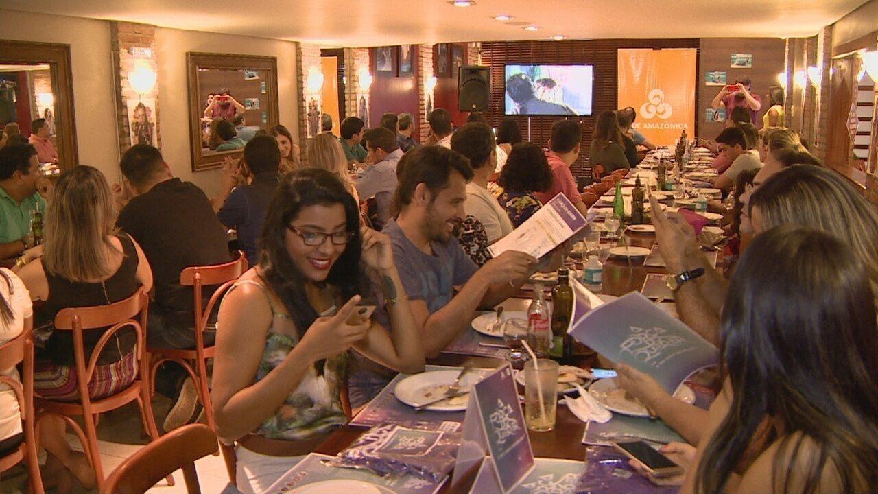 Rede Amazônica apresenta 'A força do querer' para publicitários no AM
