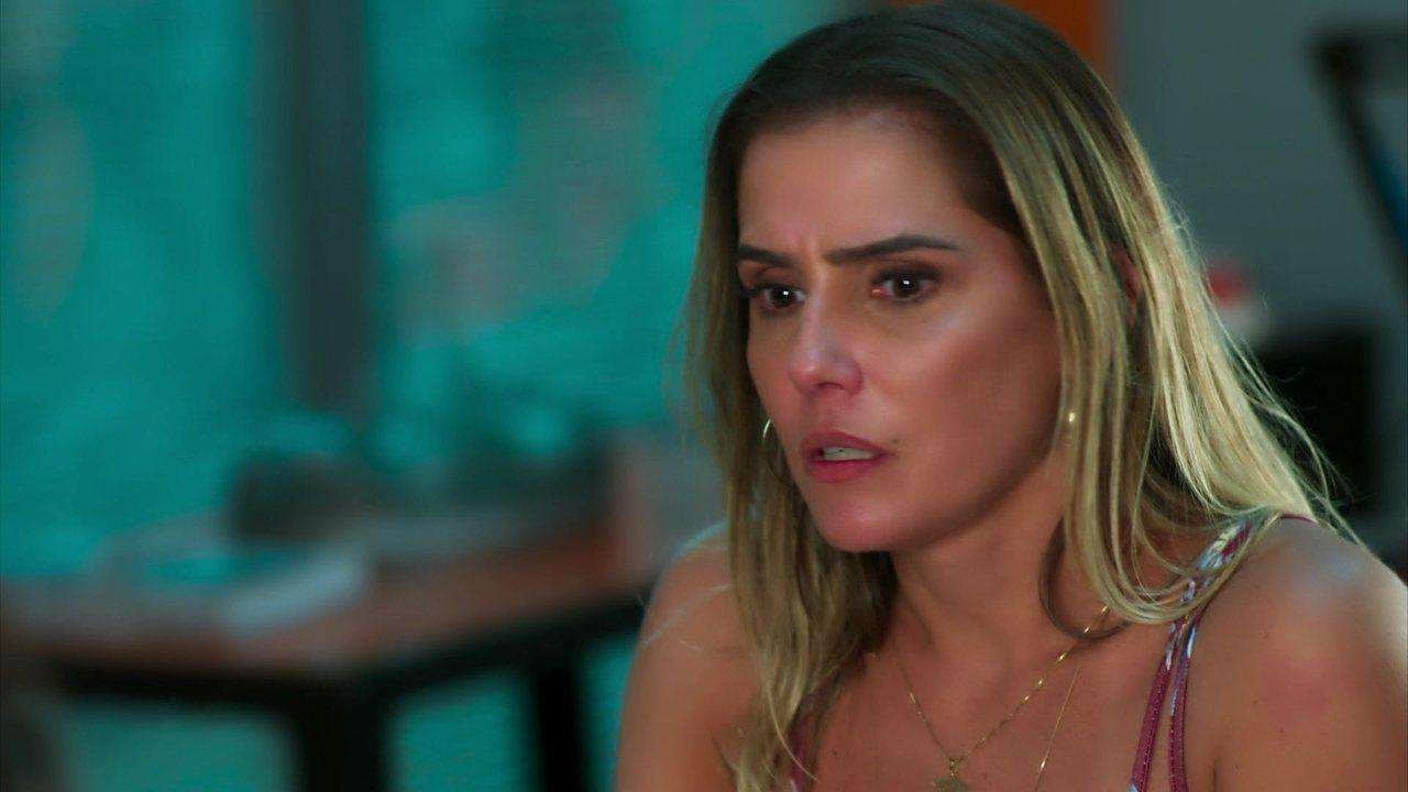 Malhação: Pro Dia Nascer Feliz - Capítulo de sexta-feira, dia 31/03/2017, na íntegra - Tânia diz a Joana que se preocupa com o comportamento de Caio