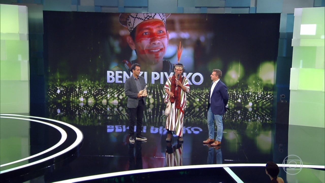 Marcos Palmeira apresenta Benki Piyãko, homenageado no 'Especial Inspiração'