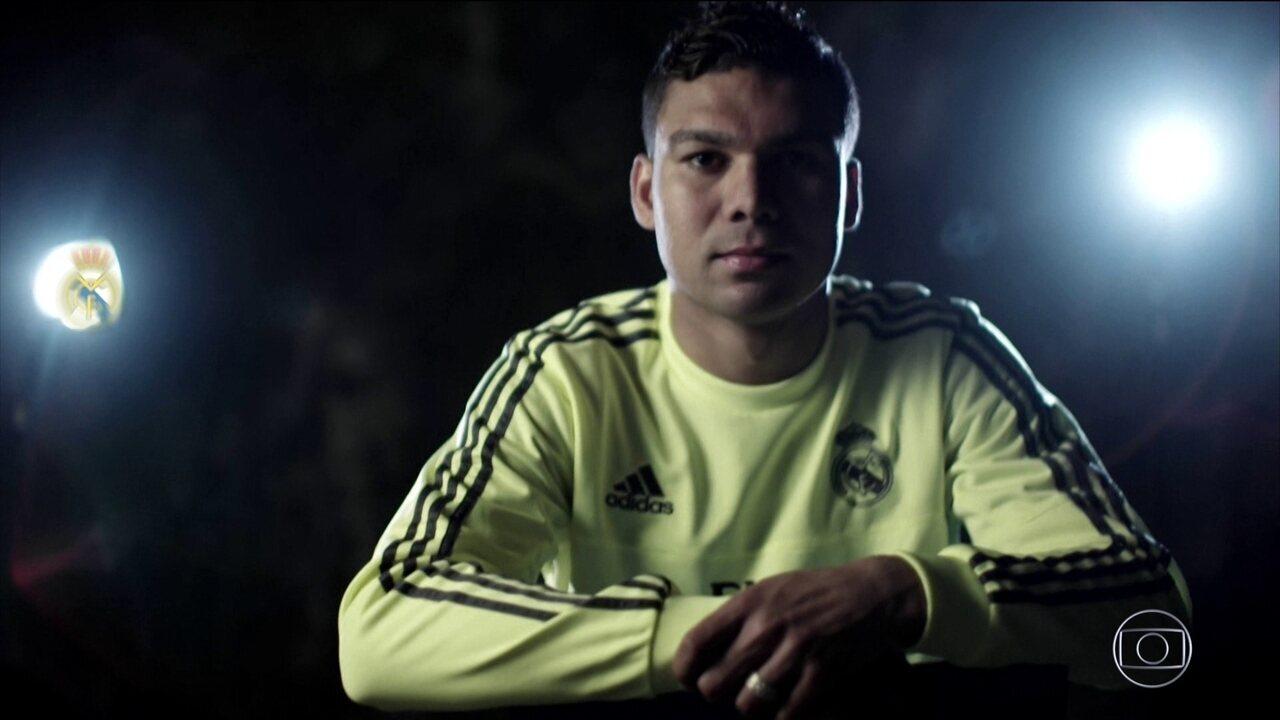 Com confiança de Zidane no Real e de Tite na Seleção, Casemiro vira referência em campo