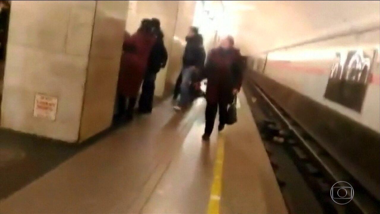Explosão deixa 11 mortos e dezenas de feridos no metrô de São Petersburgo, na Rússia