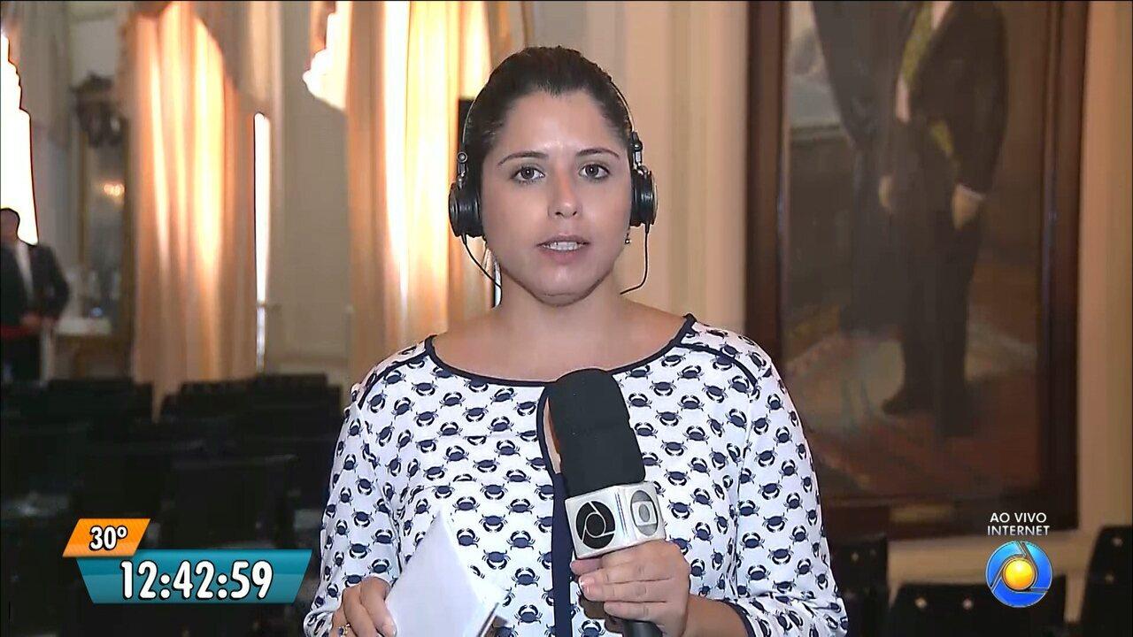 Governador nega privatização da Cagepa durante entrevista coletiva