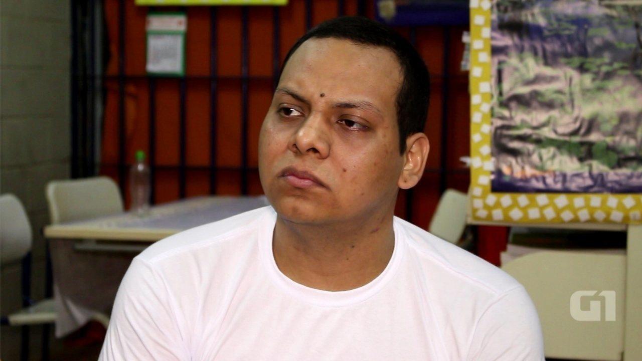 Confira a entrevista com o preso boliviano Jorge Luis Dela