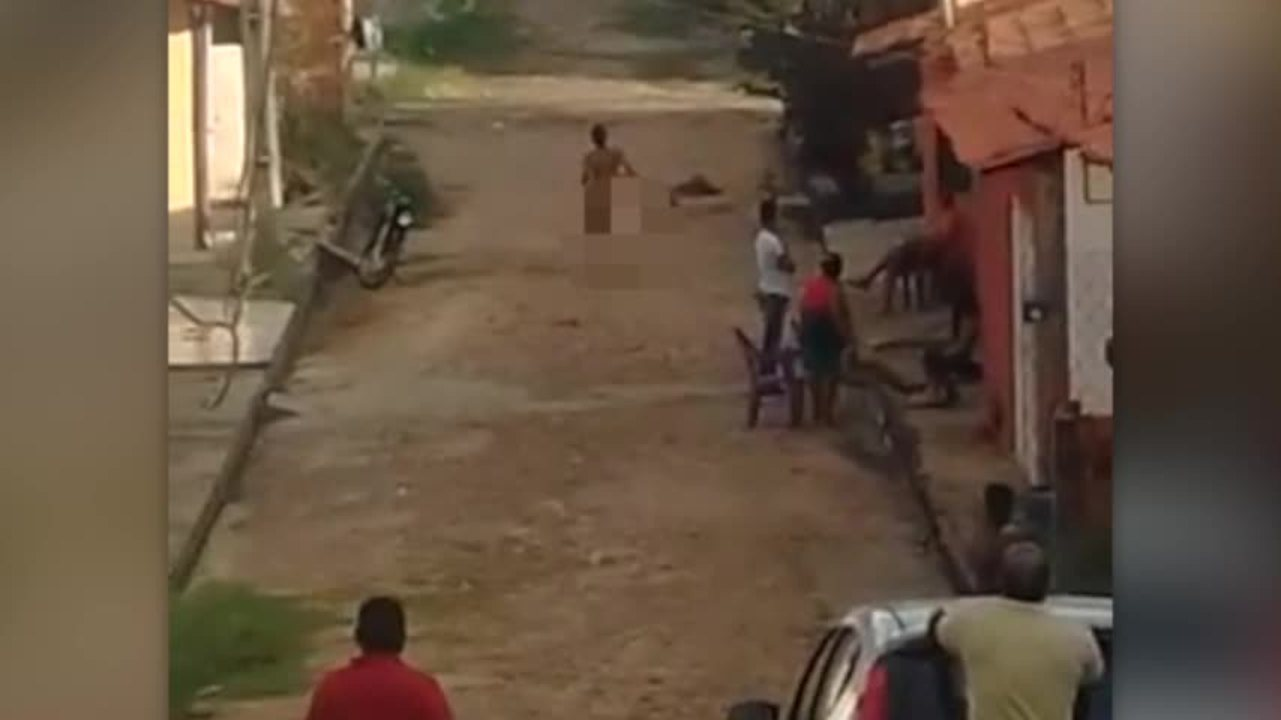 Durante prisão roupa de suspeito rasga e ele foge nu pelas ruas da zona Sul