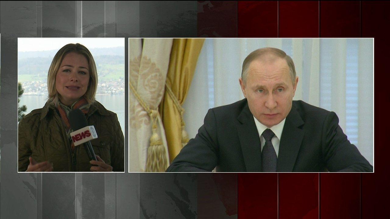 Rússia diz que a reação americana é uma agressão contra um estado soberano