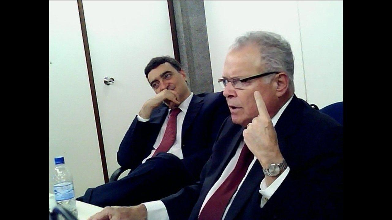 Emilio Odebrecht diz que conversou com Lula, dentro do Palácio do Planalto, sobre sítio