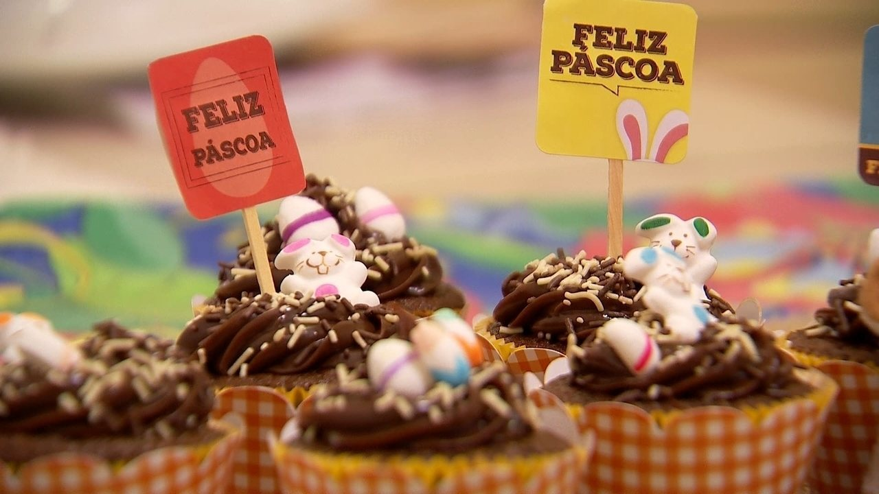 TV TEM ensina receita de 'Cupcake de Café' para esta Páscoa!