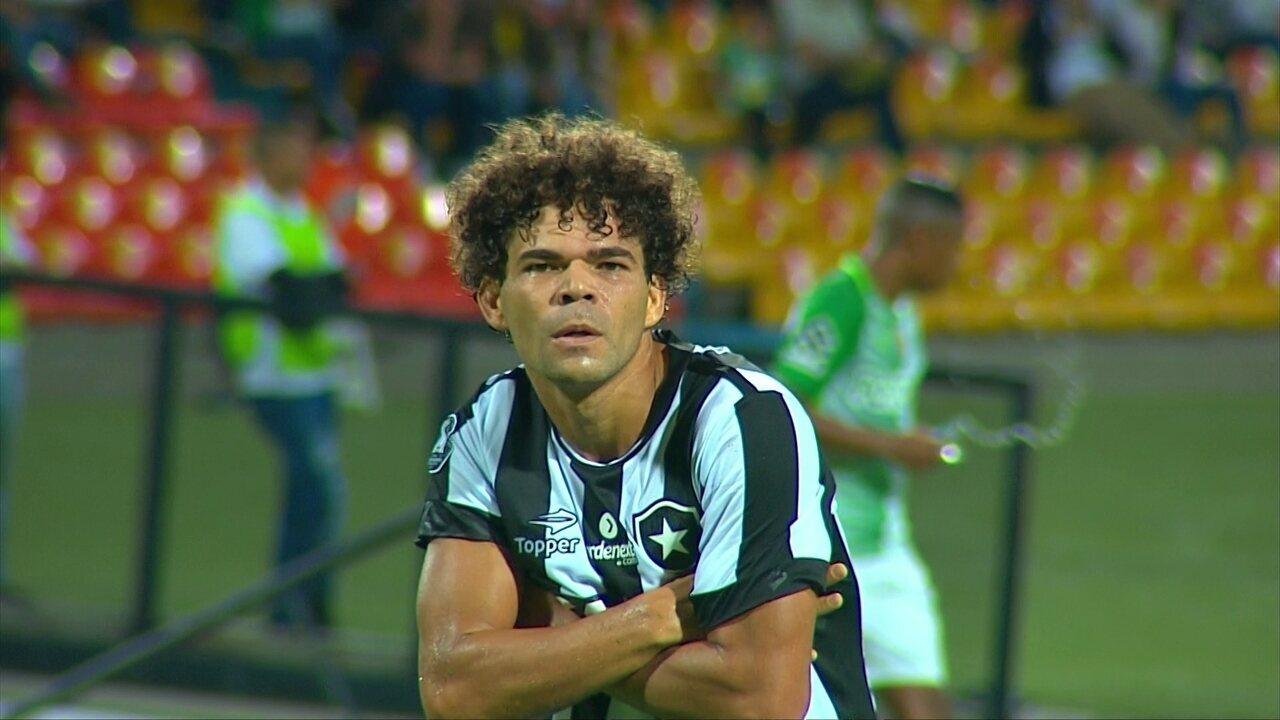 f572027620 Os gols de Atlético Nacional 0 x 2 Botafogo pela Taça Libertadores