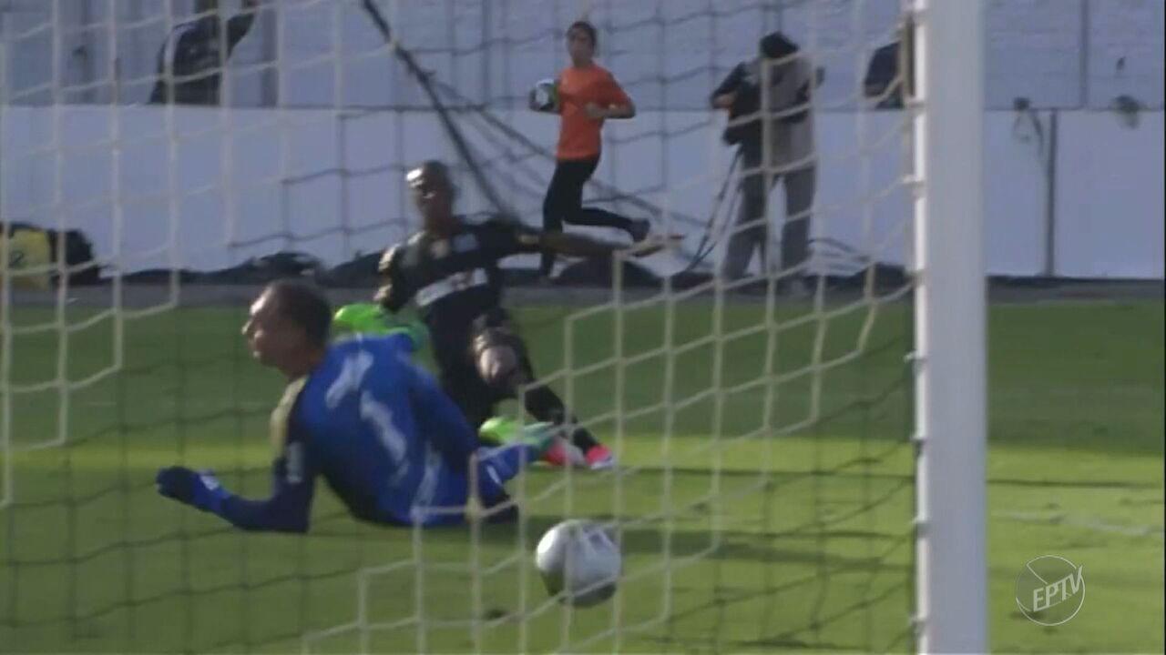 Ponte Preta atropela o Palmeiras na primeira partida da semifinal do Paulista