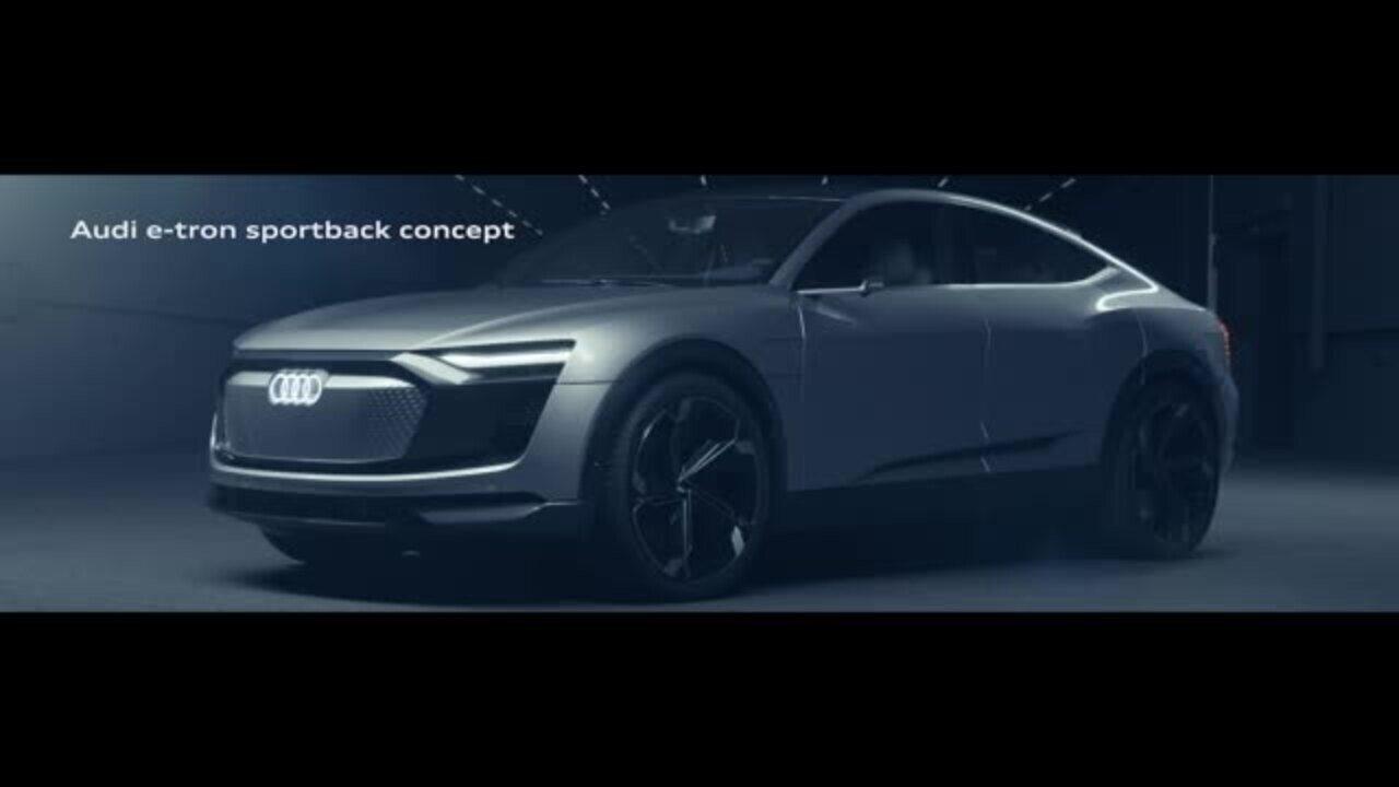 Conceito e-tron Sportback mostra como será o 2º carro elétrico da Audi