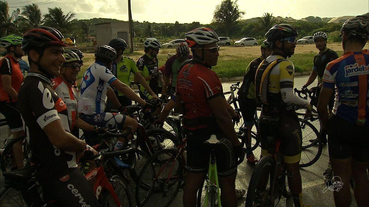 Ciclistas cobram mais segurança em vias da Grande Fortaleza