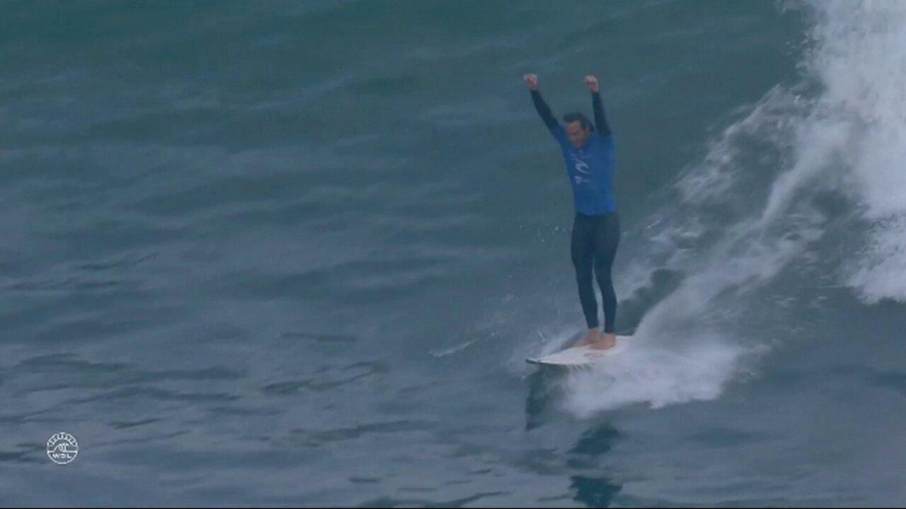 Jordy Smith derrota Caio Ibelli e é o vencedor da etapa de Bells Beach no Mundial de surfe