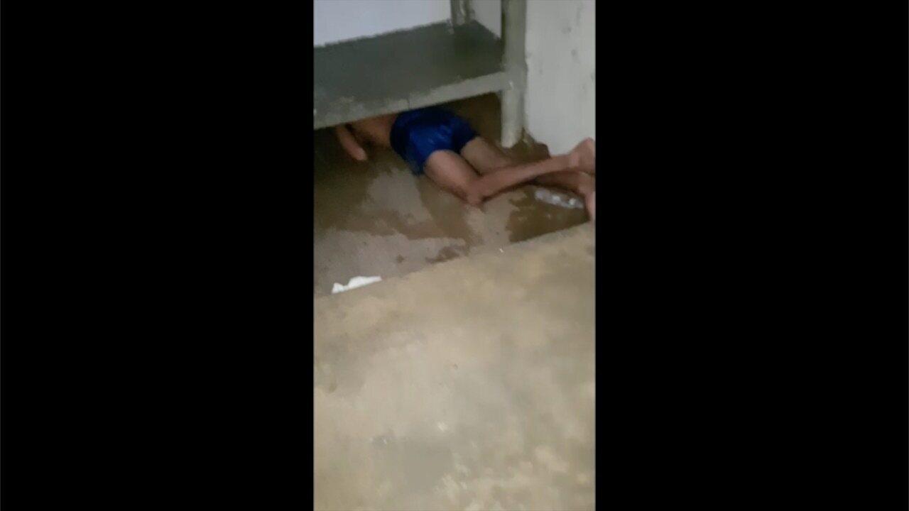 Preso ficou com braço 'entalado' em buraco nesta quarta (20) na Penitenciária de Caicó