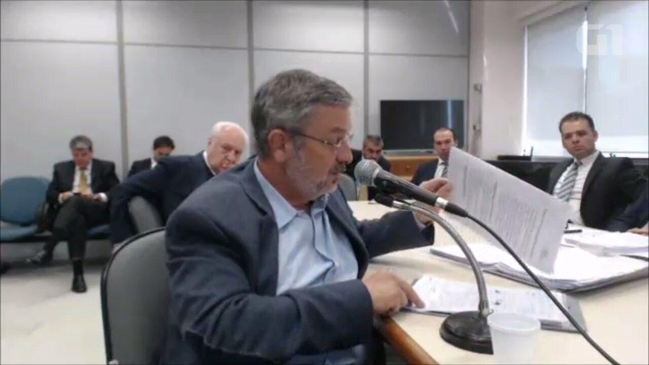 Depoimento Antonio Palocci - vídeo 2