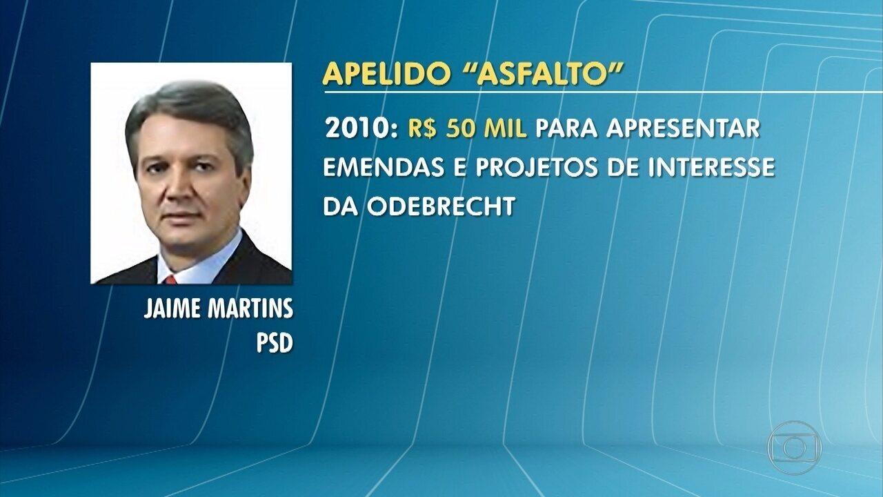 MG2 | Delação da Odebrecht: deputado Jaime Martins é citado em lista de  delator