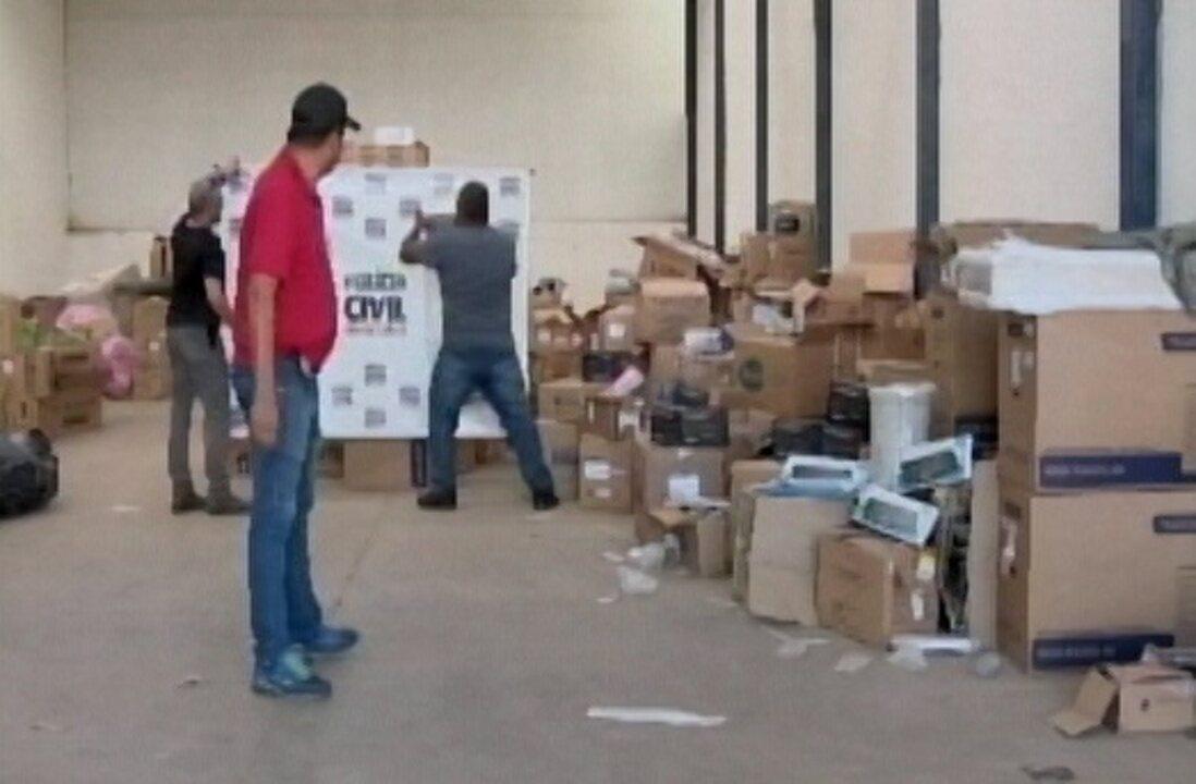 Reportagem do MGTV 2ª Edição mostra galpão onde materiais foram achados