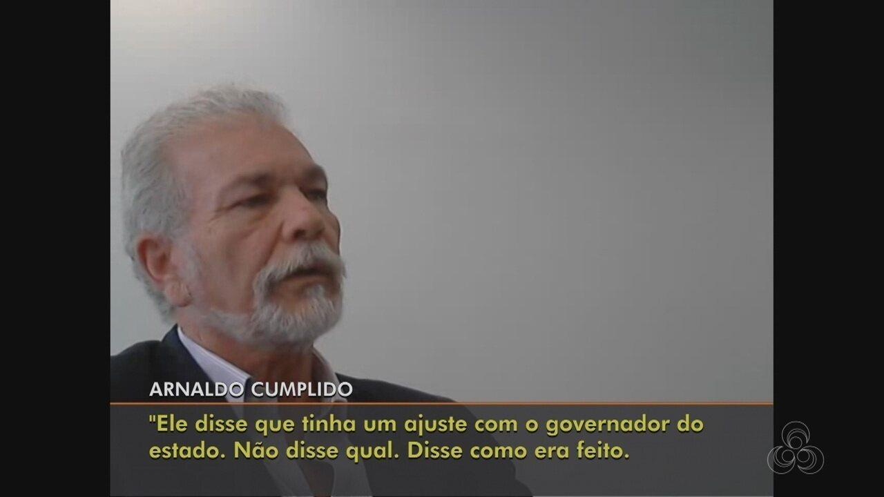 Eduardo Braga é suspeito de ter recebido R$ 1 milhão em obra da Ponte Rio Negro