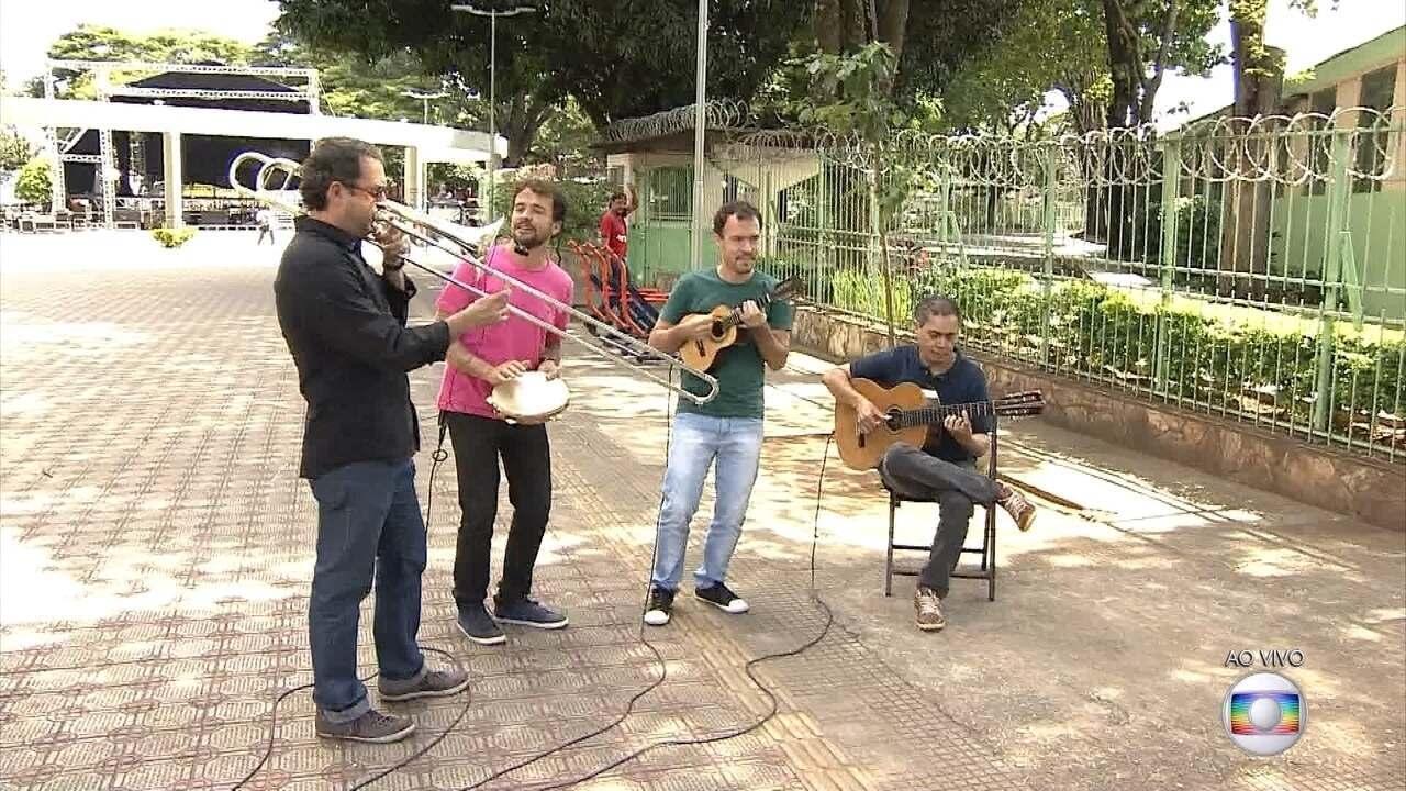 Praça Duque de Caxias, em Belo Horizonte, recebe o Minas ao Luar