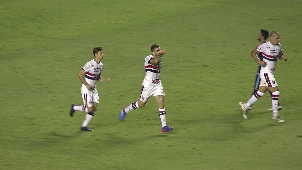 Pratto na cabeça! Veja todos os gols do argentino pelo São Paulo