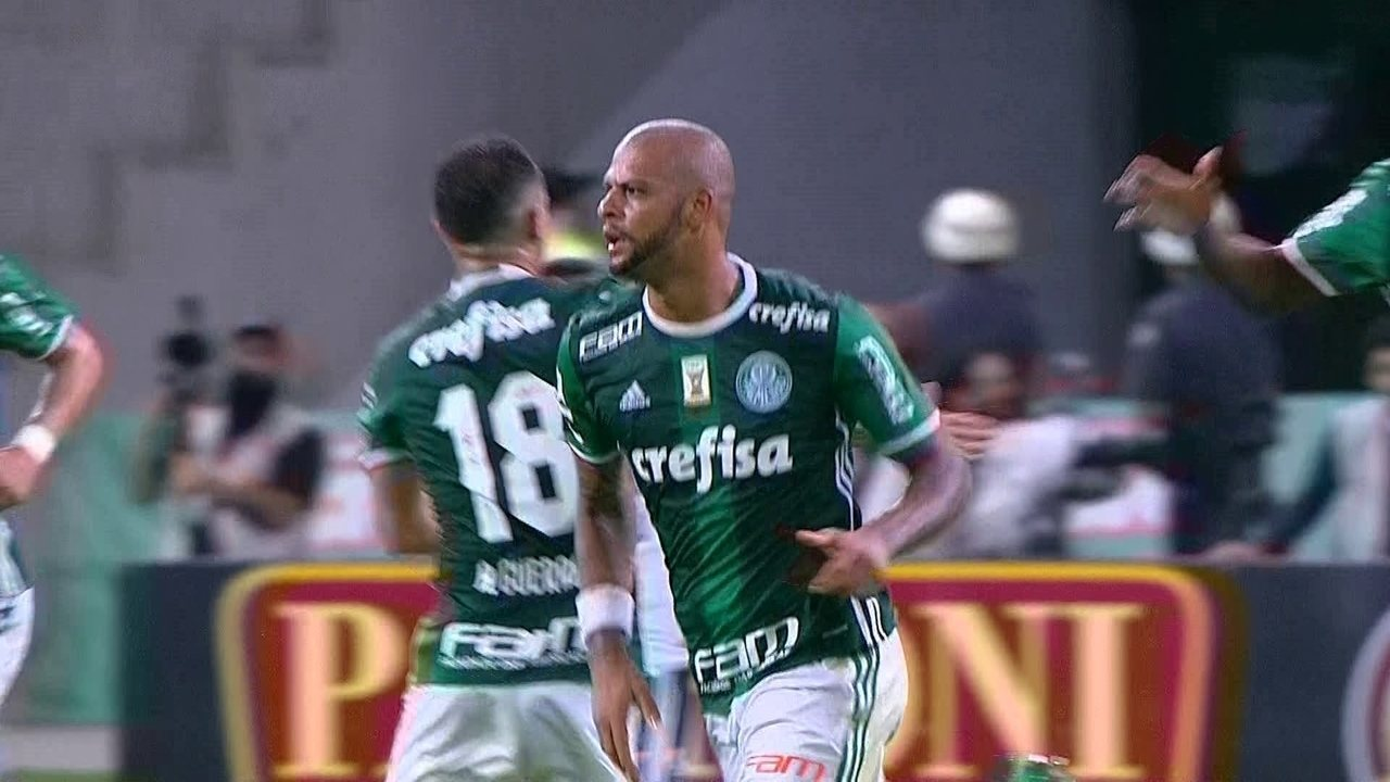O gol de Palmeiras 1 x 0 Ponte Preta pelo campeonato Paulista