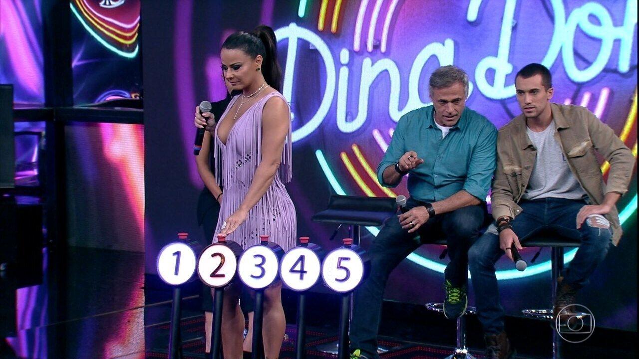 Viviane AraújoeAntonia Morais acertam a primeira música do 'Ding Dong'
