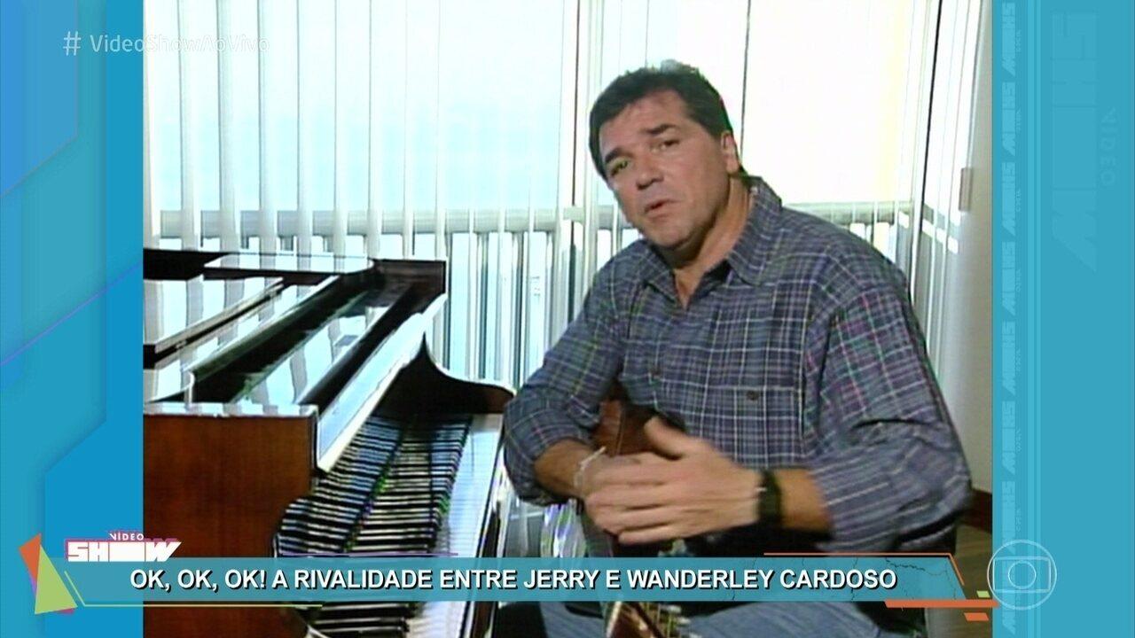 Vídeo Show relembra a rivalidade entre Jerry Adriani e Wanderley Cardoso