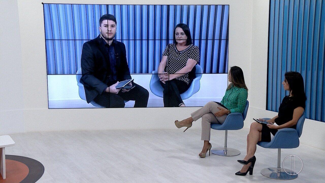 RJ Inter TV 1ª Edição entrevista Carla Machado, prefeita de São João da Barra