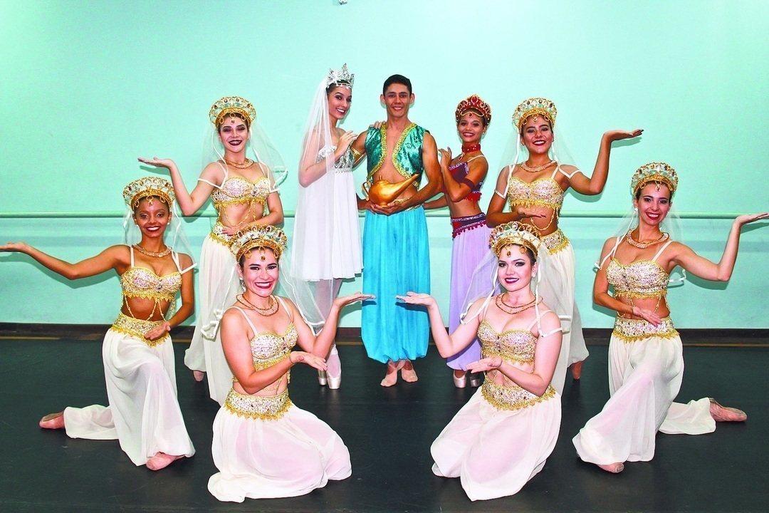 Espetáculo Mundo Mágico de Aladdin