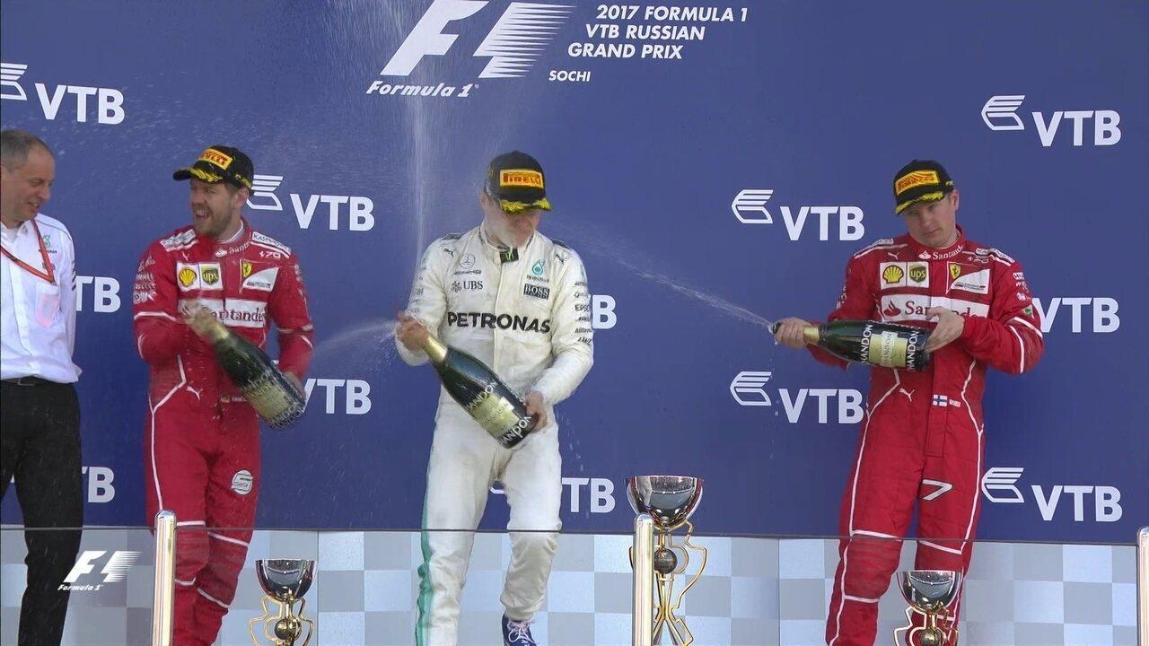 Os melhores momentos do GP da Rússia de Fórmula 1