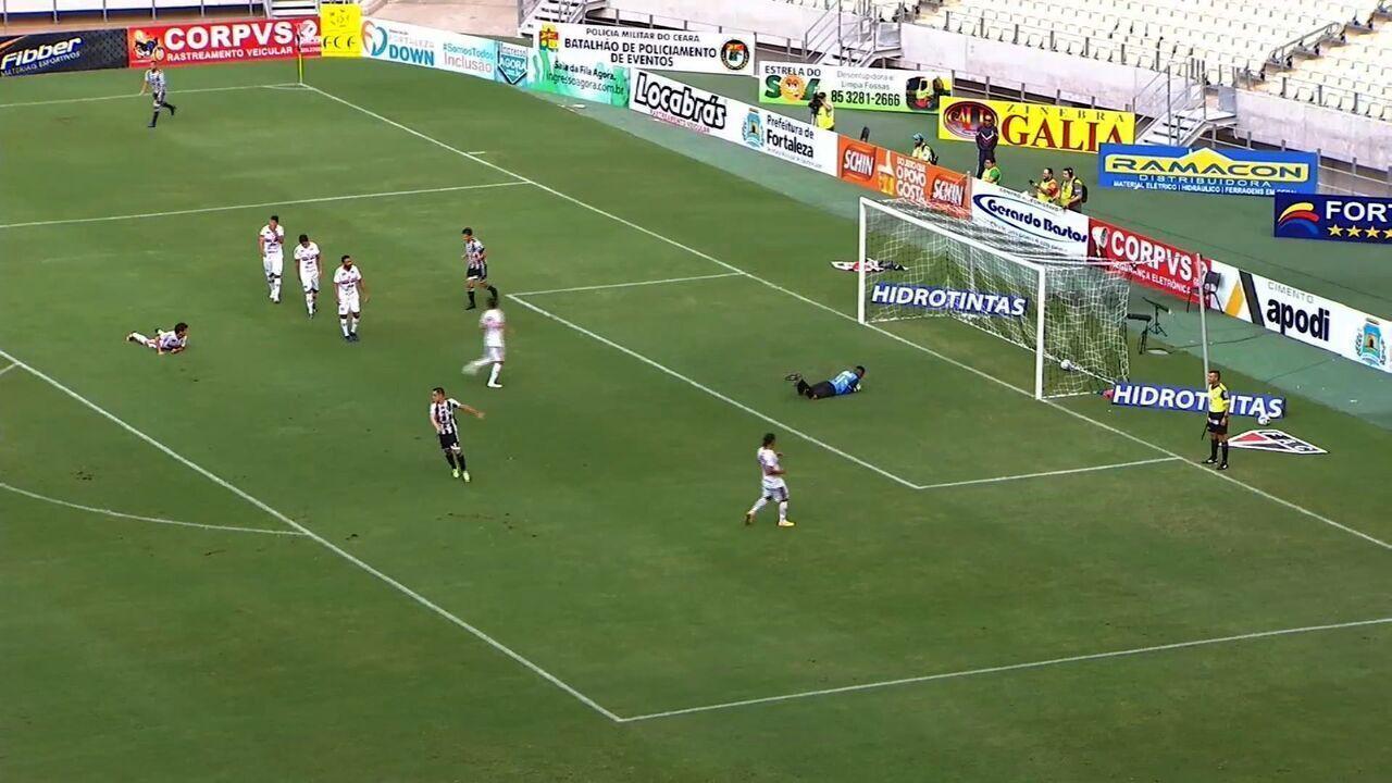 Aos 18, Wallace Pernambucano marca o primeiro e único gol do Alvinegro contra o Ferrão